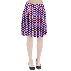 Star Pattern Pleated Skirt