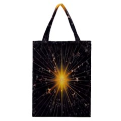 Star Christmas Advent Decoration Classic Tote Bag