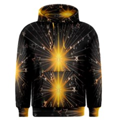 Star Christmas Advent Decoration Men s Pullover Hoodie