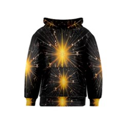 Star Christmas Advent Decoration Kids  Pullover Hoodie