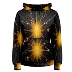 Star Christmas Advent Decoration Women s Pullover Hoodie
