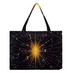Star Christmas Advent Decoration Medium Tote Bag