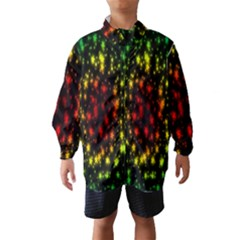 Star Christmas Curtain Abstract Wind Breaker (kids)