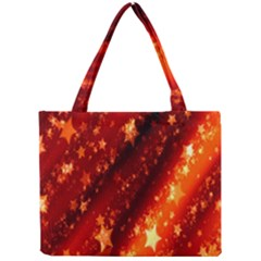 Star Christmas Pattern Texture Mini Tote Bag