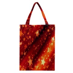 Star Christmas Pattern Texture Classic Tote Bag