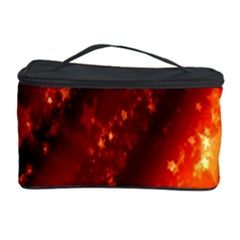 Star Christmas Pattern Texture Cosmetic Storage Case