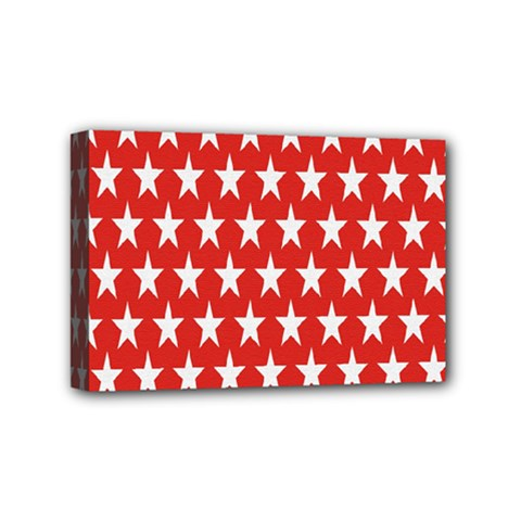 Star Christmas Advent Structure Mini Canvas 6  x 4