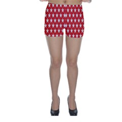 Star Christmas Advent Structure Skinny Shorts