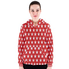 Star Christmas Advent Structure Women s Zipper Hoodie