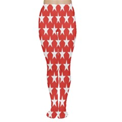 Star Christmas Advent Structure Women s Tights