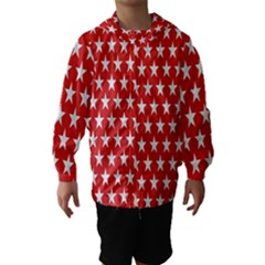 Star Christmas Advent Structure Hooded Wind Breaker (kids)