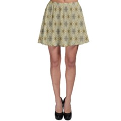 Star Basket Pattern Basket Pattern Skater Skirt