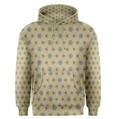 Star Basket Pattern Basket Pattern Men s Pullover Hoodie