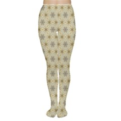 Star Basket Pattern Basket Pattern Women s Tights