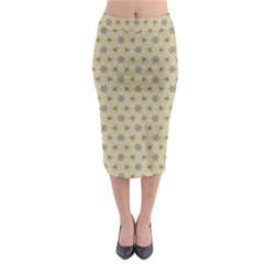 Star Basket Pattern Basket Pattern Midi Pencil Skirt