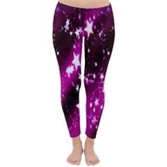 Star Christmas Sky Abstract Advent Classic Winter Leggings