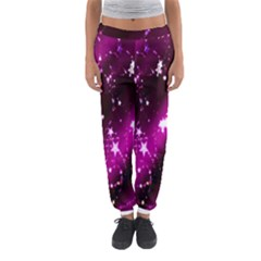Star Christmas Sky Abstract Advent Women s Jogger Sweatpants