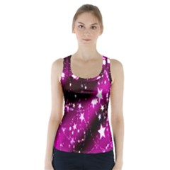 Star Christmas Sky Abstract Advent Racer Back Sports Top