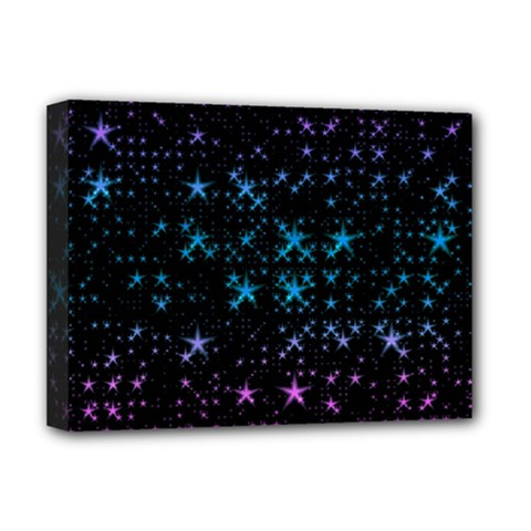 Stars Pattern Deluxe Canvas 16  X 12