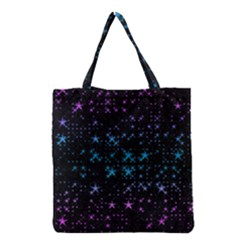Stars Pattern Grocery Tote Bag