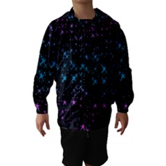 Stars Pattern Hooded Wind Breaker (kids)