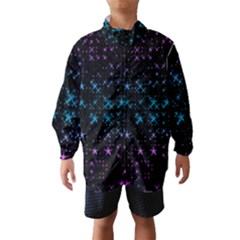 Stars Pattern Wind Breaker (Kids)
