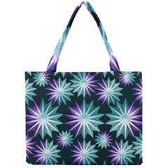 Stars Pattern Christmas Background Seamless Mini Tote Bag