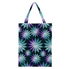 Stars Pattern Christmas Background Seamless Classic Tote Bag