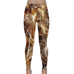 Star Golden Christmas Connection Classic Yoga Leggings