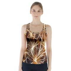 Star Golden Christmas Connection Racer Back Sports Top