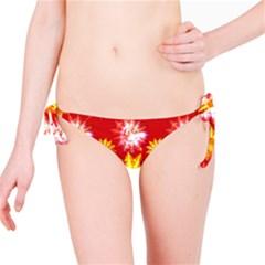 Stars Patterns Christmas Background Seamless Bikini Bottom
