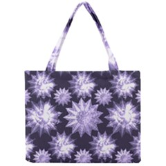 Stars Patterns Christmas Background Seamless Mini Tote Bag
