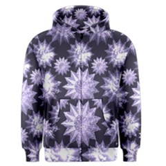 Stars Patterns Christmas Background Seamless Men s Zipper Hoodie