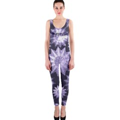 Stars Patterns Christmas Background Seamless Onepiece Catsuit