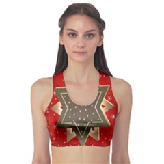 Star Wood Star Illuminated Sports Bra
