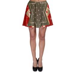 Star Wood Star Illuminated Skater Skirt