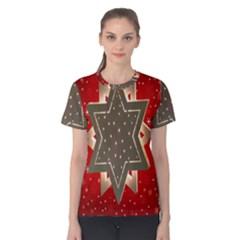 Star Wood Star Illuminated Women s Cotton Tee