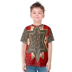 Star Wood Star Illuminated Kids  Cotton Tee