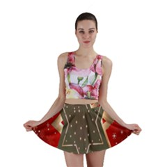 Star Wood Star Illuminated Mini Skirt