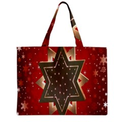 Star Wood Star Illuminated Zipper Mini Tote Bag