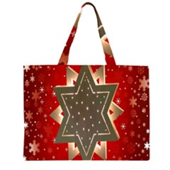 Star Wood Star Illuminated Large Tote Bag