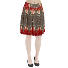 Star Wood Star Illuminated Pleated Skirt
