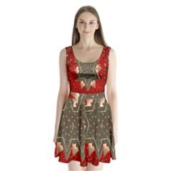 Star Wood Star Illuminated Split Back Mini Dress
