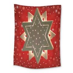 Star Wood Star Illuminated Medium Tapestry