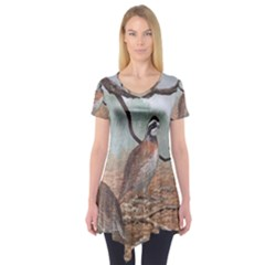 Bob White Quail Short Sleeve Tunic