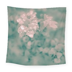 Surreal Floral Square Tapestry (large)