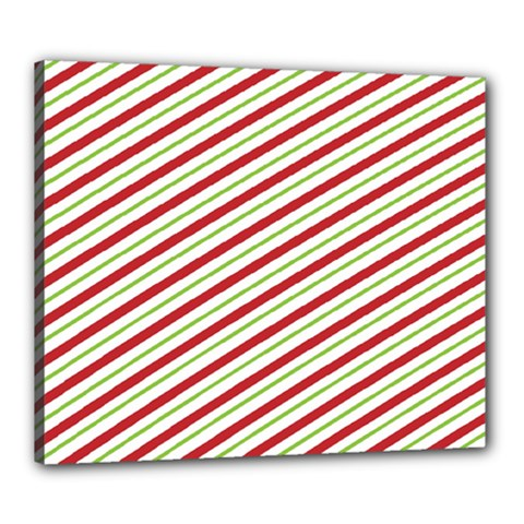 Stripes Striped Design Pattern Canvas 24  x 20