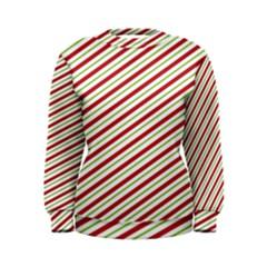 Stripes Striped Design Pattern Women s Sweatshirt