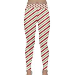 Stripes Striped Design Pattern Classic Yoga Leggings