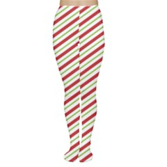 Stripes Striped Design Pattern Women s Tights
